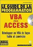 Le Guide de la programmation VBA pour Access