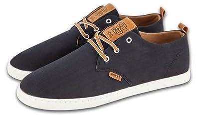 Djinns Low Lau Schwarz Weiß Tan Herren Sneaker Schuhe