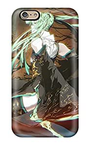 High Quality Shock Absorbing Case For Iphone 6-vocaloid Blue Cute Girl Gundam Anime Other