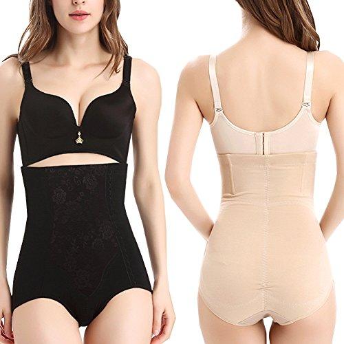MORYSONG 2-Pack Ultra High Waist Body Shaper Slimming Panty Tummy Control Shapewear Brief 5X Plus