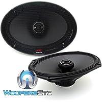 Alpine R-Series 6 x 9 Inch 300 Watt Component 2-Way Car Speakers, Pair | R-S69