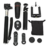 All In 1 Aaccessorie.S Phone Camera Lens Top Travel Kit For