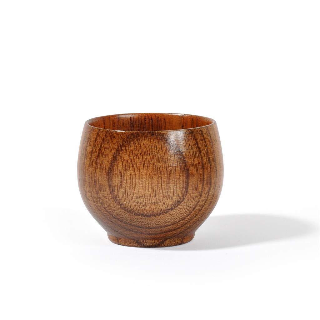 Putars Wooden Cup Wood Coffee Tea Beer Juice Milk Water Mug Primitive Handmade Natural,Wooden Tea,Wooden Portable Cup Outdoor Cup Coffee Mug Drinking Cup,Easter Gift