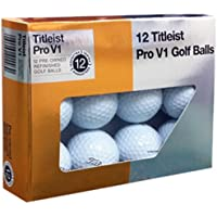 Titleist Pro V1x Mint Refinished Bola de Golf, Blanca