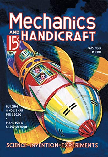 ArtParisienne Passenger Rocket Mechanics and Handicraft Wall Decal 24