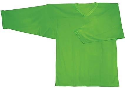 pretty nice c8e8b c056c Amazon.com : Neon Green Field Hockey Goalie Jersey : Sports ...