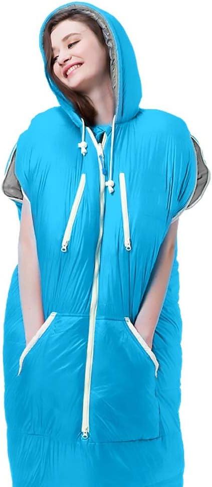 ALXLX Tragbarer Schlafsack Zeltschlafsack Farbe : Blau, gr/ö/ße : 1 kg Hotelschlafsack Campingschlafsack Leichtbau Umschlagschlafsack