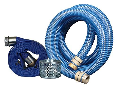 Apache 98106508 PVC XtremeFlex Aluminum Short Shank Pump Kit, 40 psi, 2'' Inside Diameter, Blue by Apache