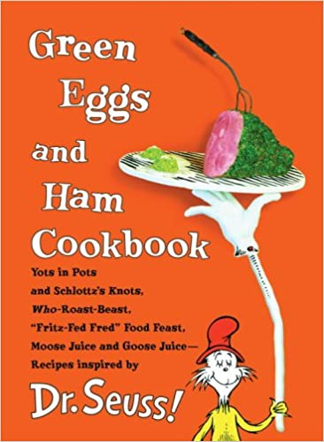 Image result for Green eggs and ham cookbook cover