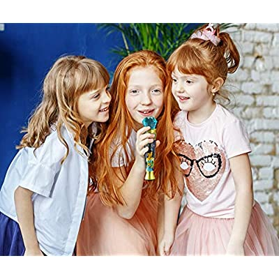 Aladdin Sing Along MP3 Microphone Sing to Built in Music Or Connect Your Audio Device & Sing to Whatever You Like: Toys & Games
