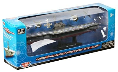 Richmond Toys USS Independence Aircraft Carrier CV 62 by Richmond Toys