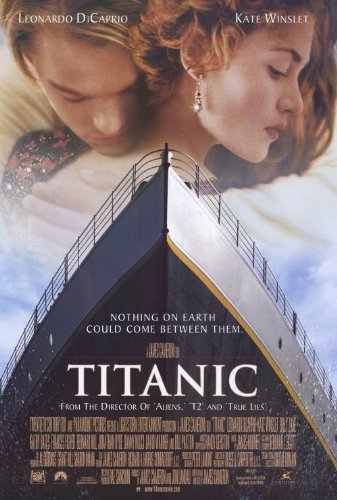Image result for titanic 1997 movie poster