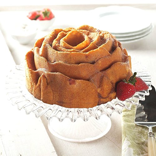 (Ship from USA) Nordic Ware 54148 Rose Bundt Cake Pan /ITEM NO#8Y-IFW81854204673