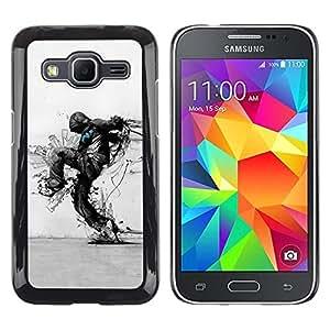 Be Good Phone Accessory // Dura Cáscara cubierta Protectora Caso Carcasa Funda de Protección para Samsung Galaxy Core Prime SM-G360 // Nature Protection Ecological Distruction Art