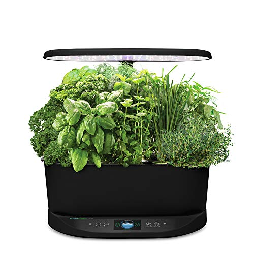 AeroGarden Bounty - Black (Alexa-Enabled)