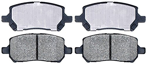 ACDelco 14D956CH Advantage Ceramic Front Disc Brake Pad Set with Hardware