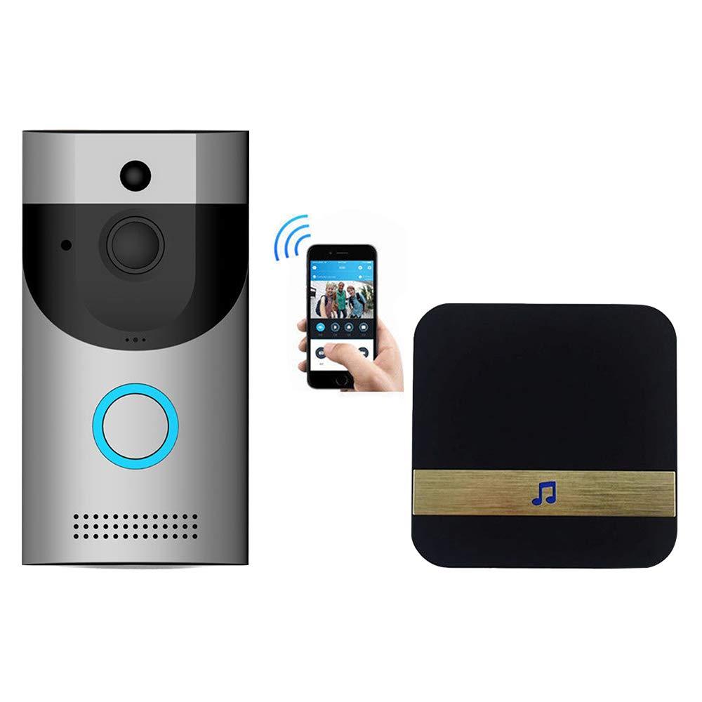 Video Türsprechanlage Gegensprechanlage Set WLAN Intelligente Türklingel HD Video Gegensprechfunktion Bewegungsmelder Nachtsicht