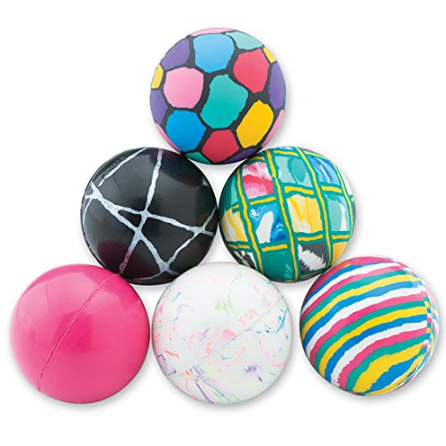 SmileMakers Giant Asst 45mm Bouncing Balls - Capsule Toy Prizes 250 per Pack by SmileMakers (Image #1)