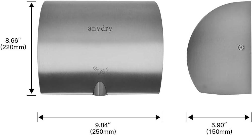 sourcingmap 20mm F1//2 G1//2 Fil femelle Inox 304 long 200cm Connecteur toilette