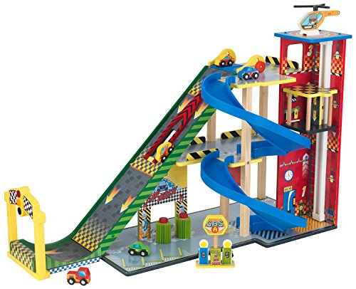 Most Matchbox Cars (Most Popular Fun New Kids Toddlers Children's Play Activity Center With Car Wash, Ramps, Helicopters Racing Autos and More- Wood Construction Best Seller- Ramp Race Parking Garage- Fun For All Ages)