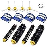 Deco Gear 12pcs Replenishment Vacuum Accessories for iRobot Roomba 675 690 Series Kit