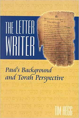 The Letter Writer Paul s Background and Torah Perspective Tim