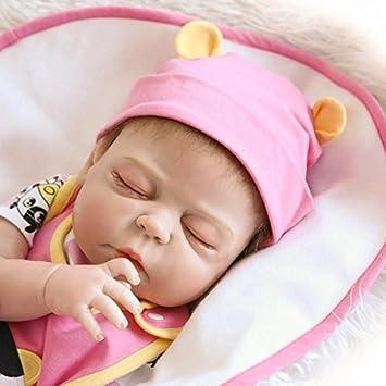 NPK Linda bebé reborn realistas de vinilo cuerpo completo de silicona suave real niña muñecas niño