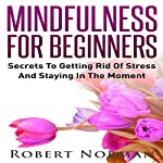 Mindfulness for Beginners: Secrets to Getting Rid of Stress and Staying in the Moment | Robert Norman