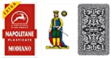 Napoletane 97/25 Modiano Regional Italian Playing Cards. Authentic Italian Deck.