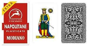 Napoletane 97/25 Modiano Regional Italian Playing Cards. Authentic Italian Deck.