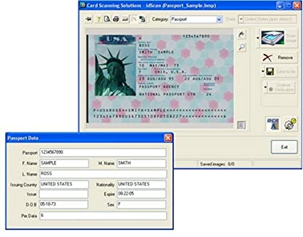 com Id Cssn Scan Amazon Reader - Electronics And Scanner Passport