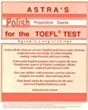 Astra's Polish Preparation Course for the TOEFL Test, Aleksandra Tomasik, 0966193857
