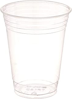 product image for SOLO Cup Company Plastic Party Cold Cups, 16 oz, Clear, 100 Pack, (3-Pack)