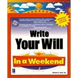 Write Your Will in a Weekend with CDROM