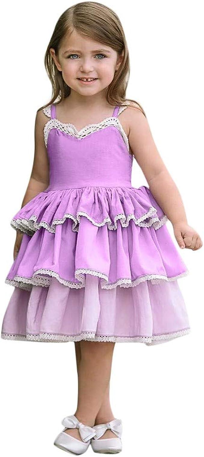 Yazidan Kinder Mädchen Blume Prinzessin Kleid Party Hochzeit