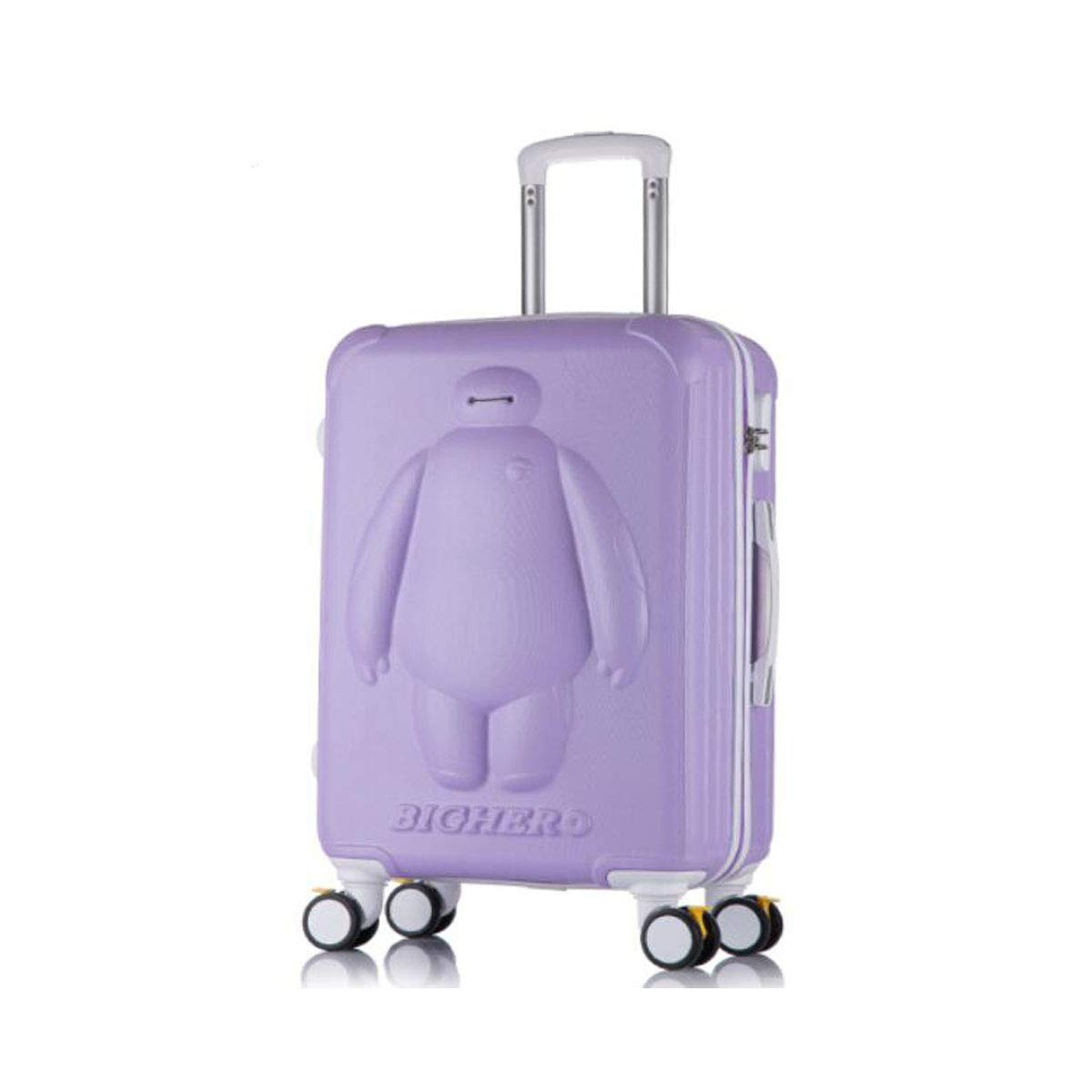 Aishanghuayi Suitcase for Childrens Password Students Cute Boarding Suitcase 33 22 46 Color : Purple, Size : 161023 inch Size Color Pink cm