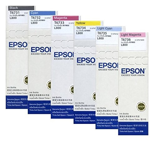 efill Ink Set For L800 / L1800 (Genuine Epson) Manufacturer: Epson ()