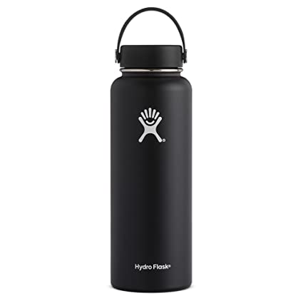 Hydro Flask Botella de acero inoxidable 40oz (Negro)