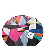Homesuns Beach Towels Room Carpet Geometric Yoga Mat Sofa Floor Mats Doormat Kids Crawling Play Mat Area Rugs,60x60cm,C