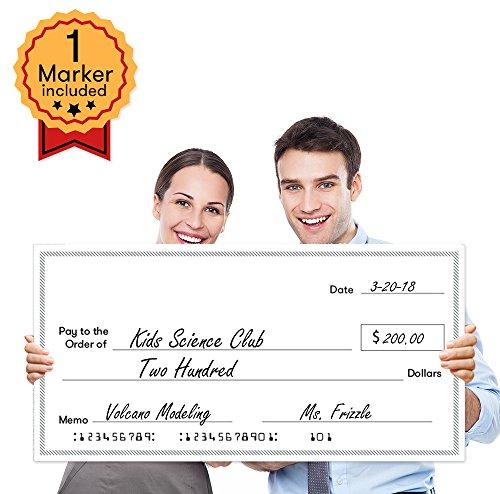 Presentation Award (Giant Fake Check for Endowment Award - 32