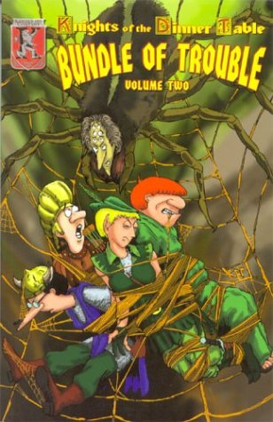Knights of the Dinner Table: Bundle of Trouble, Vol. 2 ebook
