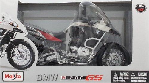 Maisto BMW R1200 GS Red 1/12 Scale 2008