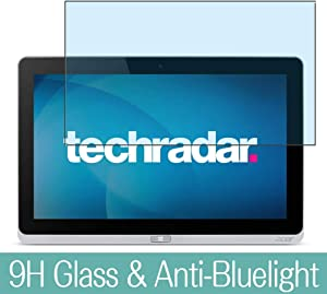 """Synvy Anti Blue Light Tempered Glass Screen Protector for Acer Iconia Tab W700 11.6"""" Visible Area 9H Protective Screen Film Protectors"""
