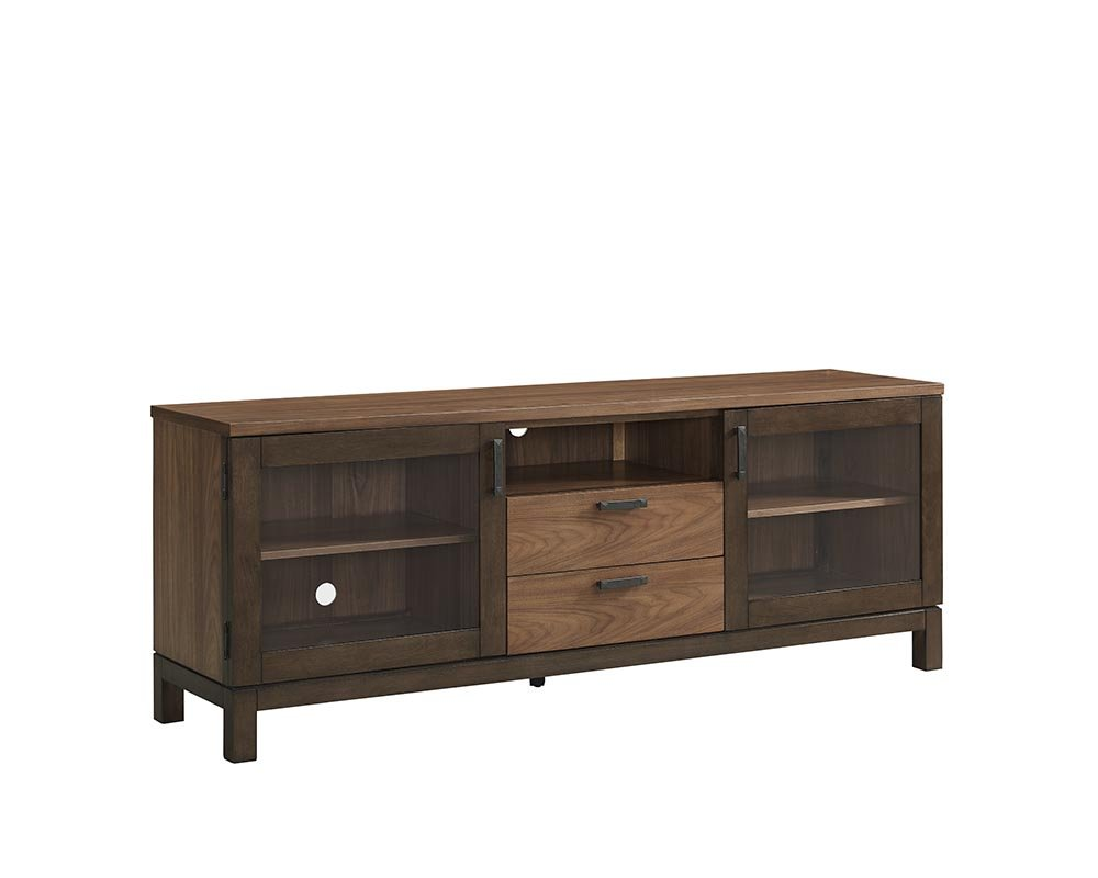 Food & Wine Estate Collection Console, Dark Chocolate/Walnut