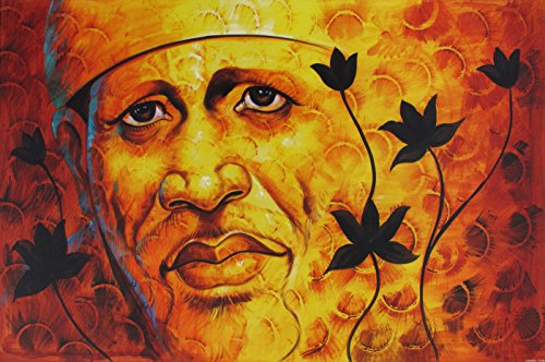 Avercart Shri Sai Baba / Shree Sai Baba / Shirdi Saibaba Poster Unframed cm