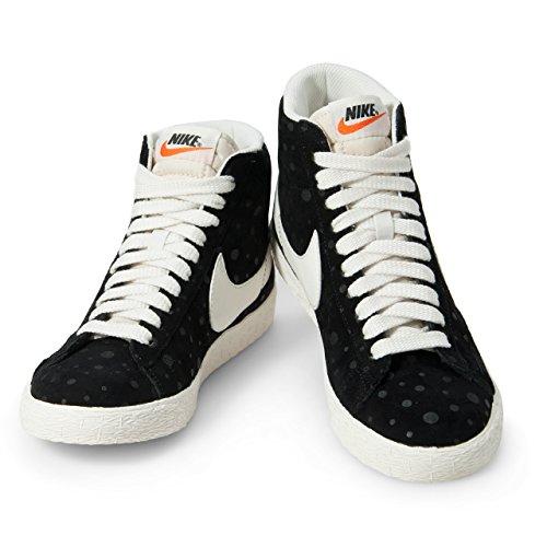 Nike Kavaj Mitten Mocka Vntg Womens Basketskor 518171-015_10.5 - Svart
