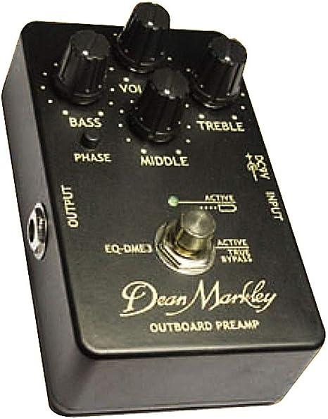 Dean Markley DME-3 previo para guitarra acustica: Amazon.es ...