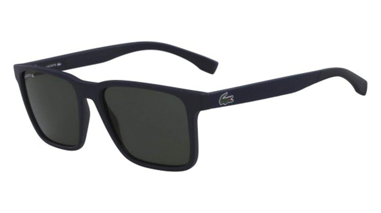 Amazon.com: Gafas de sol LACOSTE L 872 S 421 mate azul ...