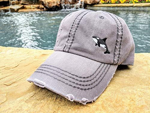 Loaded Lids, Customized, Women's Orca Hat, Orca Baseball -