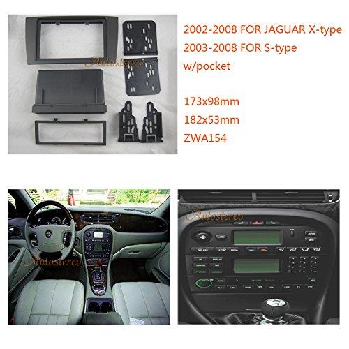 Panel de instalaci/ón para radio 2 Din con compartimento Autostereo 11-154/